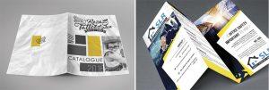 Szórólap tervezés, brosúra tervezés