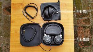 Audio Technica ATH-M70x és Audio Technica ATH-M50