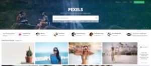 Pexels ingyenes stock fotó oldal