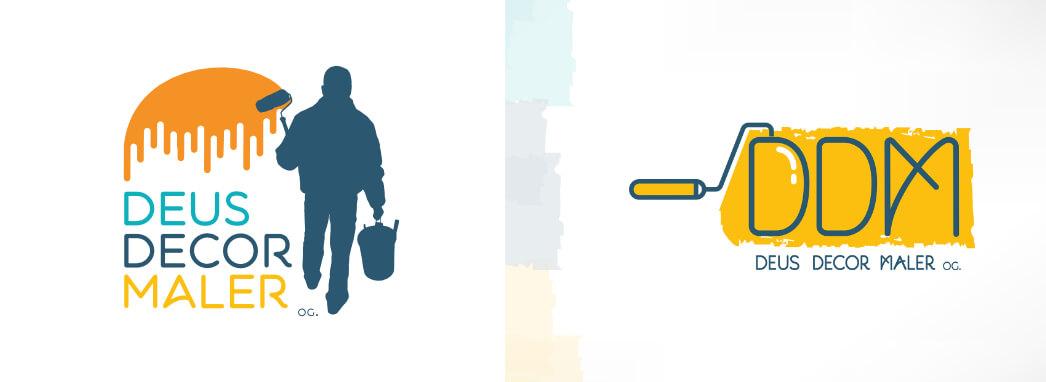 Szobafestő logótervezés